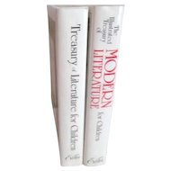 Two Volume Boxed Set of The Illustrated Treasury of  Literature for Children