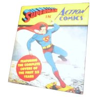 Collection of Superman Comic Book Covers First 24 Years