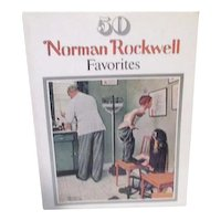50 Norman Rockwell Favorites  Suitable for Framing