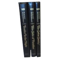 Set of 3 Novels by F. Scott Fitzgerald Great Gatsby, Tender is the Night, This Side of Paradise