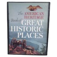 Boxed Book The American Heritage Book of Great Historic Places