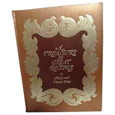 A Treasury of Great Recipes by Mary and Vincent Price - Red Tag Sale Item