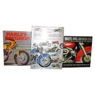 Three Harley-Davidson Books