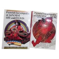 Two Pictorial Encyclopedias of Japanese Culture Life and Events