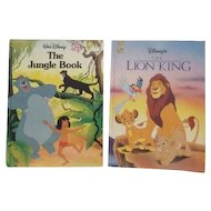 Two Disney Jungle Stories The Lion King and The Jungle Book