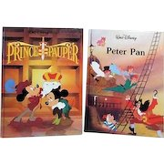 Two Disney Classics The Prince and the Pauper and Peter Pan