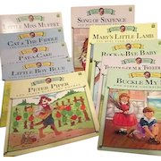 Set of 10 Mother Goose Books Leap Frog Series