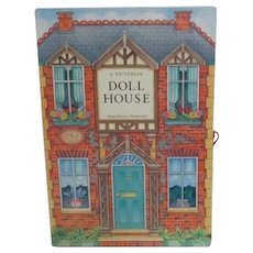 A Victorian Doll House -- Book opens to create house