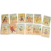 Set of 12 Tiny Golden Books c1949 Garth Williams Illustrations