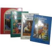 Set of 4 Children's Christmas Books 3 Pop-ups