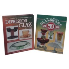 Collectible Glassware from the 40's 50's and 60's & Collector's Encyclopedia of Depression Glass