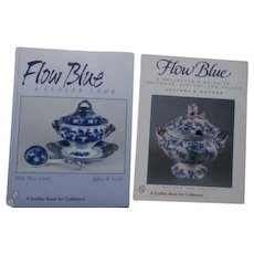 2 Flow Blue Collector's Books