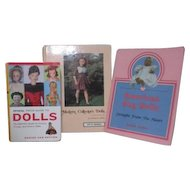 Set of 3 Books Doll Collecting and Price Guides