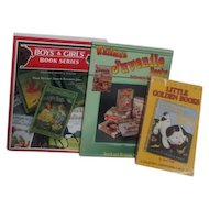 3 Books on Collecting Juvenile Books with Price Guides