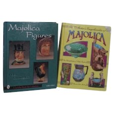 2 Majolica Collecting Books with Price guides