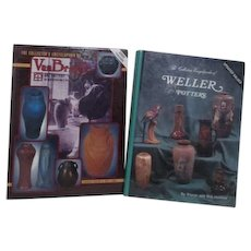 2 Books on Collecting Pottery: Weller and Van Briggles