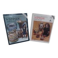 Pair of Collector's Hardback Books of Nippon Porcelain