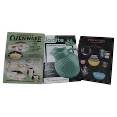 Set of 3 Books:Pyrex Jadite and Ovenware Collector's Guides