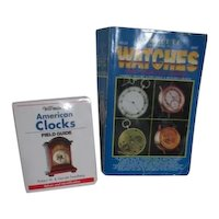 2 Books Warman's American Clocks and Complete Guide to Watches