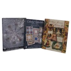 3 Collecting Books: Tablecloths, Antique Lace and Celluloid Treasures of the Victorian Era