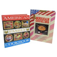 2 Cookbooks A Guide to Modern American Cooking and American Family Cookbook