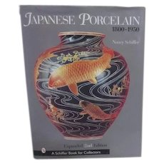 Japanese Porcelain 1800-1950 Schiffer Book for Collectors