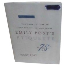 Emily Post's Etiquette 16th Edition 75th Anniversary