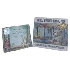 Two Caldecott Honors Maurice Sendak Books Mr. Rabbit, Wild things