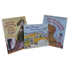 Set of 3 Children's Dinosaur Books 2 by Yolen & Teague