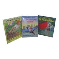Set of 3 Children's Picture Books Garth Williams, Audrey & Don wood