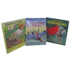 Set of 3 Children's Picture Books Garth Williams, Audrey & Don wood