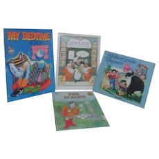 Set of 4 Children's Hardback Picture Books