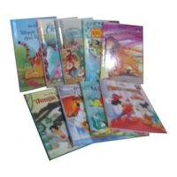 Set of 7 Disney's Wonderful World of Reading