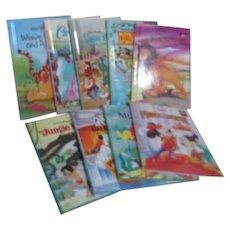 Set of 7 Disney's Wonderful World of Reading