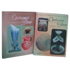 2 Editions of the Standard Encyclopedia of Opalescent Glass