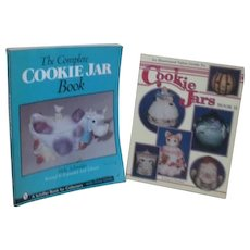 Pair of Soft Cover Cookie Jar Collecting Books