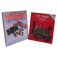 2 Books Toy Trains and Cars & Trucks