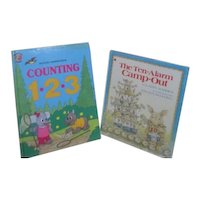 Two Hardback Children's Counting Books