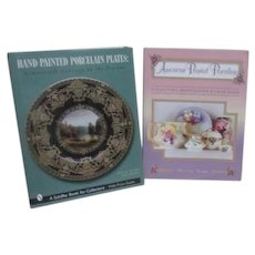 Two Collector's  Books on Painted Porcelains