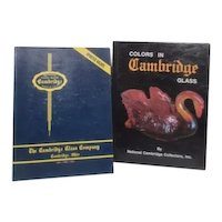 Two Cambridge Glass Reference Books