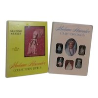 Two Madame Alexander Collector's Dolls Books