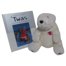 Coca Cola Book of Night Before Christmas with Coca Cola Bear
