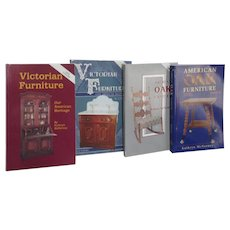 4 Paperback Books on Furniture Oak and Victorian