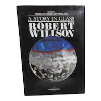 A Story in Glass  by Robert Wilson Bilingual English/Italian