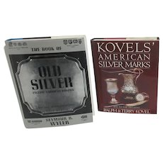2 Reference Guide Books on Silver Marks