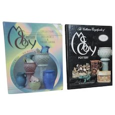 Set of 2 McCoy Pottery Collector's Guides