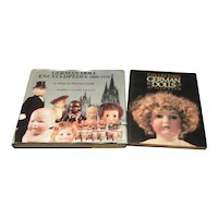 2 Hardback Books on Collecting German Dolls