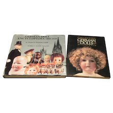 2 Hardback Books on Collecting German Dolls