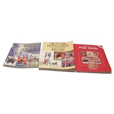 3 Paperback Books on Collecting Picture Postcards