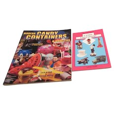 2 Paperback Books on Collecting Candy Containers